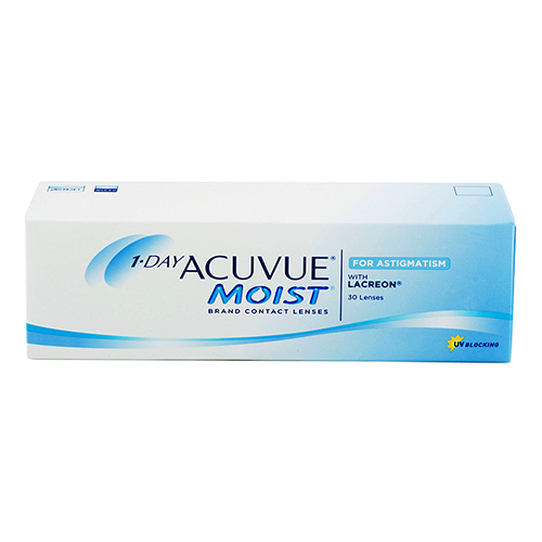 1-Day Acuvue Moist for Astigmatism (30 šošoviek)
