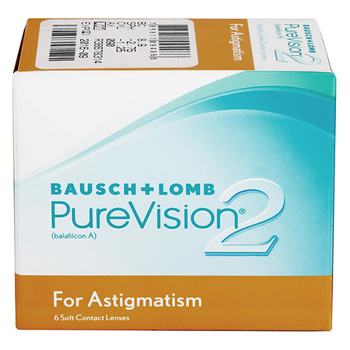 PureVision 2HD for Astigmatism 6 ks